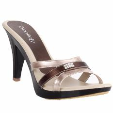 Harga Blackkelly High Heels Wanita Heels Sandal Footwear Wanita Ljpx553 Cream 9 Cm Blackkelly Asli