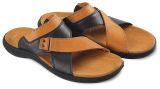 Blackkelly Lmg 114 Sandal Casual Pria Pu Pvc Sol Tpr Bagus Coklat Hitam Terbaru