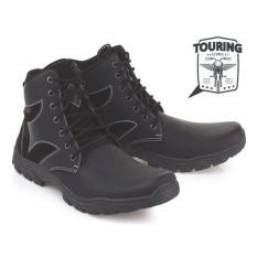 Toko Jual Blackkelly Sepatu Boots Touring Pria Shamus Lsm 879 Hitam