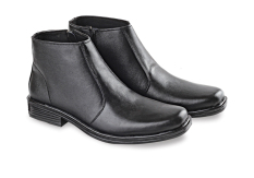 Jual Blackkelly Sepatu Kulit Semi Formal Pria High Gigante Black Branded Original