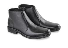 Harga Blackkelly Sepatu Kulit Semi Formal Pria High Gigante Black Paling Murah