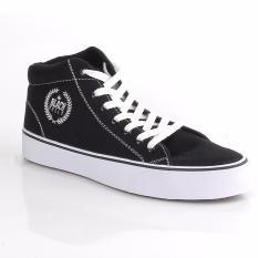 Ongkos Kirim Blackkelly Sepatu Sneakers Pria Sepatu Casual Sepatu Trendy Ldox356 Black White Di Jawa Barat
