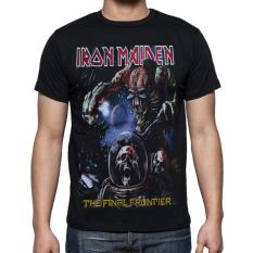 Ulasan Blacklabel Kaos Hitam Bl Iron Maiden 44 T Shirt Rock Star Metal Band Gothic S