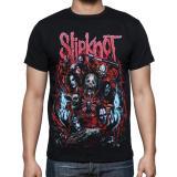 Harga Termurah Blacklabel Kaos Hitam Bl Slipknot 23 Slipknot Rock Star Metal Band Gothic S