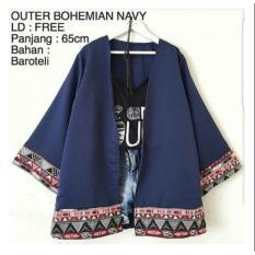 Blazer Cardy Outer Bohemian Atasan Wanita Original