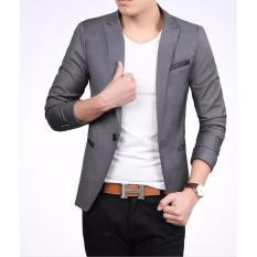 Blazer Coolist Grey Fesyen Zone Diskon 50