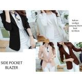 Review Blazer New Fashion Jaket Casual Wanita Lengan Panjang Blazer