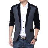 Model Blazer Pria Jas Pria Grey Black Comby Terbaru