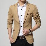 Spesifikasi Blazer Pria Jas Pria Tan Color Stylish