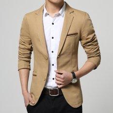 Jual Blazer Pria Jas Pria Tan Color Stylish Online Di Yogyakarta