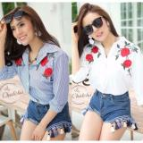 Toko Jual Blessshopping Best Seller Chate Flower White