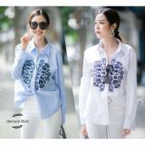 Spesifikasi Blessshopping Ourcute Shirt Salur Blue