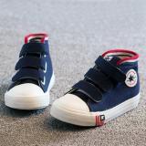 Daftar Harga Blink Sepatu Sneaker High Cut Anak Motif Bintang Biru Tua Sz 27 Blink