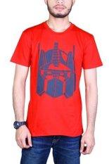 Bloop Tshirt BLP-OE036 Optimus Red