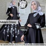 Jual Blouse Wanita Baju Tunik Melani Dress Baru
