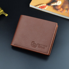 Toko Blue Eyes Men Kulit Dompet Dompet Koin Purse Notecase Coklat Muda Other Di Tiongkok