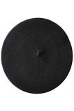 Bluelans® Wol Topi Baret Beanie Hitam Terbaru