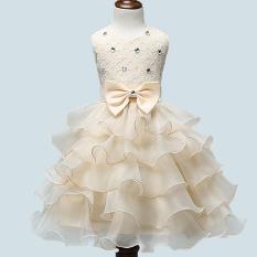 Beli Bluelans Cewek Bowknt 5 Lapis Rok Pernikahan Kue Ulang Tahun Putri Tutu Hati Pembaptisan Gaun Kuning Blue Lans Dengan Harga Terjangkau
