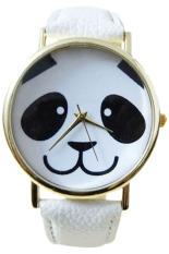 Bluelans® Panda Imitasi Putih Kulit Strap Perhiasan Diskon Akhir Tahun