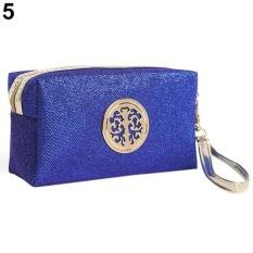Bluelans Tas Kosmetik untuk Traveling dengan (Royal Biru)-Intl