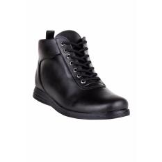 Harga Blues Footwear Sepatu Pria Kasual Semi Boot Ranger Hitam Paling Murah