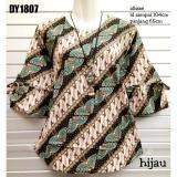 Toko Blus Batik Bahan Katun Dy1807 Hijau Lengkap Di Indonesia