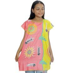 Blus Santai, Baju Tidur, Piyama, Daster Batik, Atasan Batik (BPT001-17)