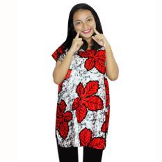 Blus Santai, Baju Tidur, Piyama, Daster Batik, Atasan Batik (BPT001-58) Batik Alhadi