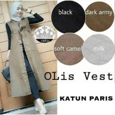 Bluse Muslim - Cardy Outer - Rompi - Outer Rom