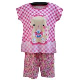 Bnv Baju Tidur Babydoll Setelan 7709 Pink Terbaru