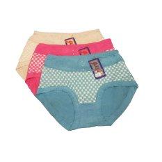 Harga Bnv Celana Dalam Wanita 7337 3Pcs Multicolor Crpb Dan Spesifikasinya