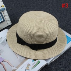 BOATER HAT TOPI PORK PIE HAT PANTAI a14534f08e