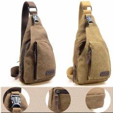 Bodypack Bag Tas Selempang Pria Bahan Jeans  Men Sling Shoulder Bags