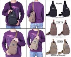 Turun Harga!!! Bodypack Bag Tas Selempang Pria / Men Sling Shoulder Bags 6012 A366A