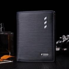 Spesifikasi Bogesi Dompet Pria Bahan Kulit Model Vertikal Warna Biru