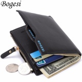 Spesifikasi Bogesi Dompet Kulit Pria Bogesi836 Black Murah