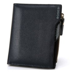 Bogesi Dompet Pria Batam Branded Kulit Model Terbaru PU Synthethic Leather Men's Wallet