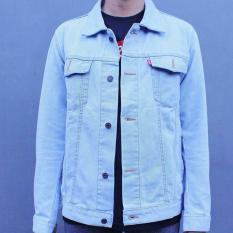 Bohel Jaket Jeans Denim Pria - [BIRUMUDA] Bioblitz Light