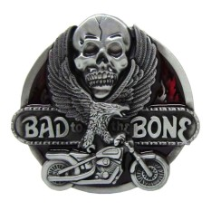 Harga Bolehdeals Bad To The Bone Skull Flying Eagel Motorcycle Metal Belt Buckle Western Cowboy Intl Yg Bagus