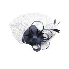 Review Terbaik Bolehdeals Pernikahan Hiasan Bulu Berdesak Desakan Bunga Mini Jepit Rambut Pita Topi Hitam Internasional
