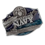 Beli Bolehdeals Carved United States Navy Army Letter Belt Buckle Eagle Buckle For Men S Cowboy Belt Jeans Belts Accessories Intl Cicil