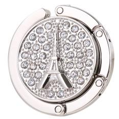 Toko Bolehdeals Berlian Imitasi Eiffel Tas Lipat Dudukan Kait Gantungan Tas Lebih Aman Putih Internasional Bolehdeals Online