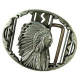 Toko Jual Bolehdeals Vintage Silver Indian Belt Buckle Native American Western Cowboy Buckle Intl