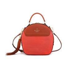 Bonia Orange Sonia Bag M