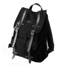 Model Bonjour Tas Ransel Alphonse Backpack Laptop Black Terbaru