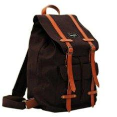 Bonjour Tas Ransel Alphonse Backpack Laptop - Brown 313a8f5ef9
