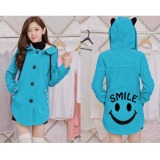 Jual Bosbaju Jaket Sweater Smile Turkis Branded Original