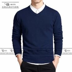 Harga Bosbaju Sweater Pria Rajut Lengan Panjang Ake Rajut Tebal Jaminan Kualitas Lengkap