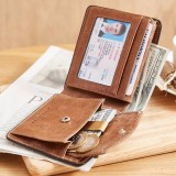 Spesifikasi Bostanten Men S Genuine Cowhide Leather Wallets 2018 New Rfid Blocking Multi Card Slots Coin Pocket With A Gift Box Intl Bostanten