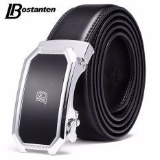 Jual Bostanten Men S Genuine Cow Leather Belts Black With A Gift Box Intl Original